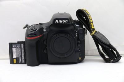 88新二手Nikon尼康 D800 单机 快门10230多次(1441)【深】