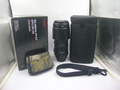 出售 95新 适马150-500mm f/5-6.3 OS 佳能口 包装齐全 请看图片