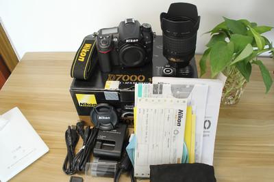 99新尼康 D7000+18-105镜头套机单反相机中高端专业级二手国行