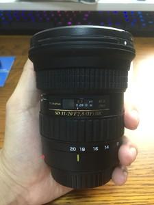(佳能口半画幅)图丽 AT-X 11-20mm f/2.8 PRO DX