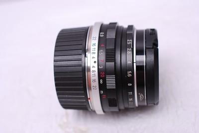 福伦达 35 mm F2.5 35/2.5 徕卡M口 福伦达35/2.5
