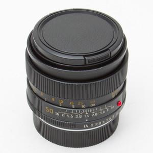 Leica徕卡R50mm/F1.4莱卡R头单反镜头85新NO:7860