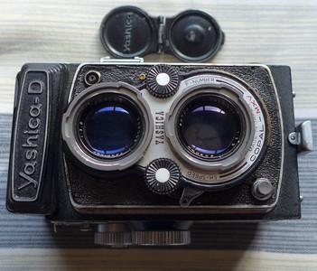 Yashica-D 雅西卡 胶片双反相机