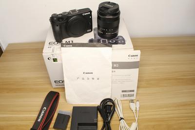 96新Canon/千亿国际娱乐官网首页EOS M3 18-55防抖镜头套机微单电小单反相机
