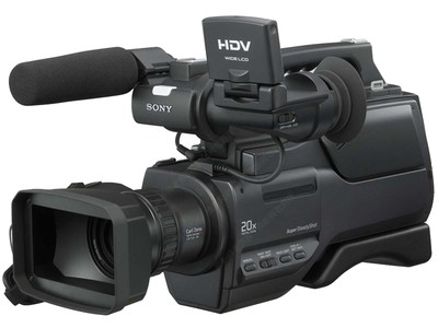 Sony/索尼 HVR-HD1000C 高清摄像机 磁带机专业 肩扛式 1000C