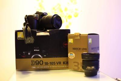 尼康 D90,18-105mm,35 1.8G