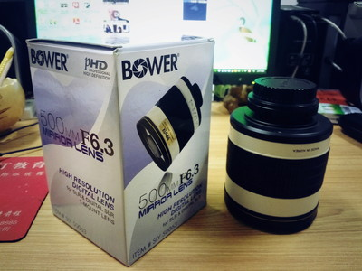 折返镜头 BOWER  F6.3  500