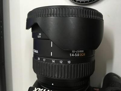 适马 10-20mm f/4.0-5.6 EX DC HSM(宾得/索尼卡口)