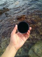 吉艾滤镜ND1000减光镜防水镀膜色差小慢门摄影长