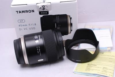 腾龙 45 mm F1.8 VC USD 45/1.8 腾龙45/1.8 腾龙 45/1.8 佳能口