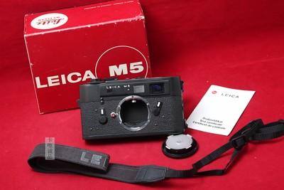 伟德betvictor_LEICA 徕卡 M5 三耳 全机械相机 旁轴 经典 实物拍摄 美品好成色