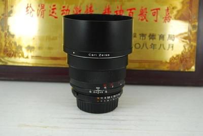 95新 尼康口 卡尔蔡司 85mm F1.4 ZF.2 二代 单反镜头 大光圈定焦