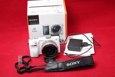 SONY 索尼 A6000 16-50 套机 实物拍摄 难得美品好成色 100%好评