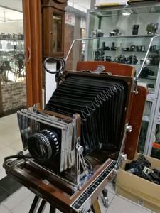 国产木制外拍相机,收藏价值极高。