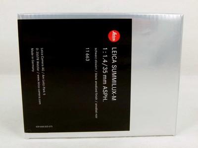 包装齐全的徕卡Leica Summilux-M 35/ 1.4 Asph 11663