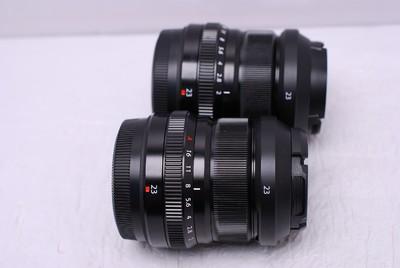 富士 XF 23 mm F2 23/2 富士23/2 富士 23/2 富士微单镜头 好成色