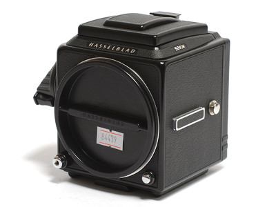 哈苏 501CM机身 黑色连D型增亮对焦屏 *美品*