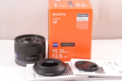 99/索尼 Sonnar T* FE 35mm F2.8 ZA 极新净 ( 全套包装 )