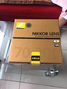 尼康 AF-S 尼克尔 70-200mm f/2.8G ED VR II 70-200