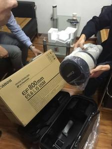 转让佳能 EF 800mm f/5.6L IS USM