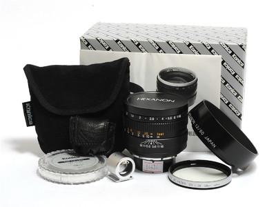 柯尼卡/Konica Hexanon 60mm F/1.2镜头 L39徕卡螺口*超美品连盒*
