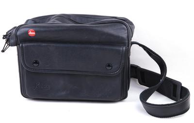 【美品】徕卡 黑色真皮单肩相机包 14843 #jp19214