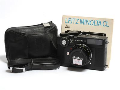 徕卡/Leica 美能达 CL相机连M-Rokkor 40mm F/2镜头 *美品*