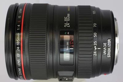 【全画幅标准变焦镜头】佳能 EF 24-105/4L IS USM(NO:8012)
