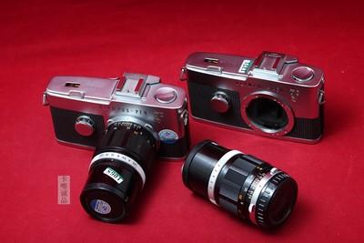 奥林巴斯 PEN F 胶片机 半格机 100/3.5 实物拍摄 胶片套机