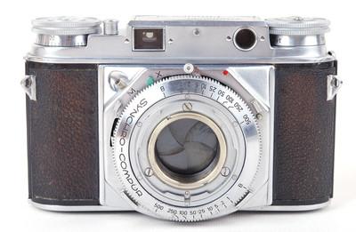 福伦达 Prominent 大眼睛银色机身 胶片相机#jp19227