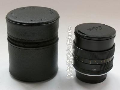 成色极好 正品徕卡LEITZ R 50mm/F1.4 E55 33后期德产 尼康口