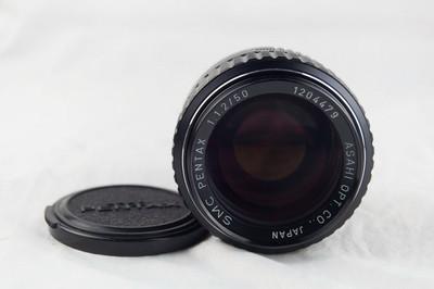 宾得K SMC 50 1.2 镜头 极美品好成色