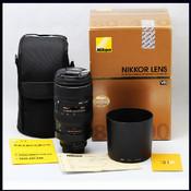 尼康 AF 80-400 4.5-5.6D VR ED 包装全 新同品