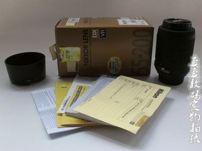 成色极好正品行货 尼康DX AF-S 55-200mm/4-5.6G ED VR长焦 #9388
