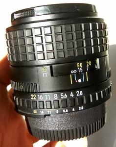 尼康nikon mf series E 100 F2.8手动中焦定焦人像镜头968