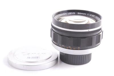 【良品】佳能 Lens 50/0.95 已改徕卡 M口#HK7437