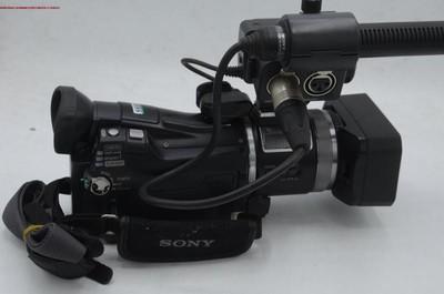 新到 9成多新 Sony/索尼 HVR-A1C 高清摄像机 编号8669