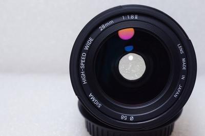 适马 28mm f/1.8  (佳能口)