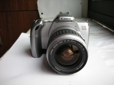 较新佳能EOS300V单反相机带28--90mm镜头