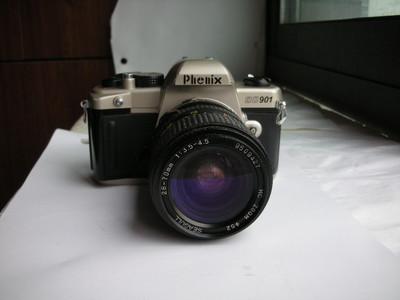 凤凰901单反相机带28--70镜头,机械快门,有多次曝光景深预测