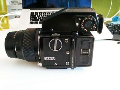bronica ETRS中画幅胶卷相机 加 105mm镜头