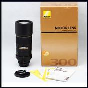nikon 尼康 AF-S 300/4 D ED 99新 长焦定焦 (收购 交换)