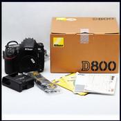 Nikon 尼康 D800 行货 后期906编号 全副单反机身 (收购 交换)