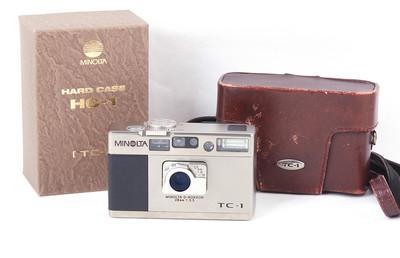美能达 TC-1 28/3.5 香槟色胶片相机带皮套背带#jp19315