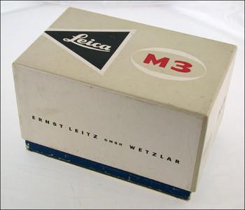 极品收藏成色 徕卡 Leica M3 经典旁轴机身 带包装