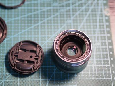 富士 WCL-X100广角转换镜头