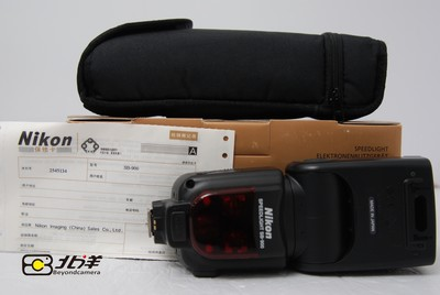 98新尼康 SB-900带包装(BG12260011)【已成交】