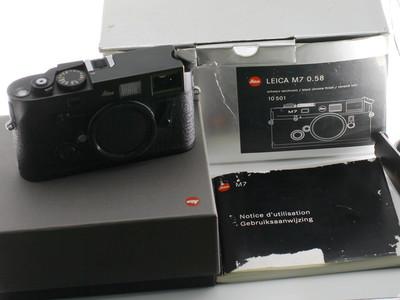 徕卡 LEICA M7 0.58 黑色机身