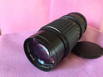 甩卖M42螺口80-200变焦镜头