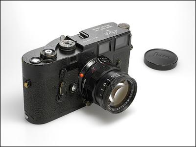 徕卡 原版黑漆! Leica M3 + 50/2 原漆原件 收藏成色